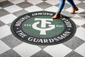 The Guardsman Terrazzo Art Adelaide